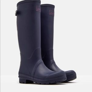NW JOULES FIELD RAIN BOOTS ADJUSTABLE BACK GUSSET